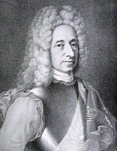 """Frederik 4. fra """"Berømte danske mænd og kvinder"""". Foto: Wikimedia Commons"""