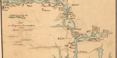 Kart over grensen fra Dalsland