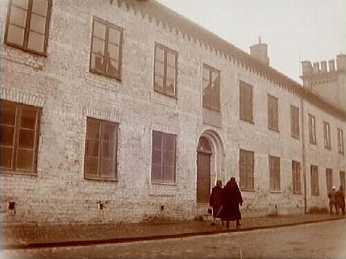 Karl XIIs högkvarter i Lund år 1930. Foto: Jenny Larsson, Örebro läns museum