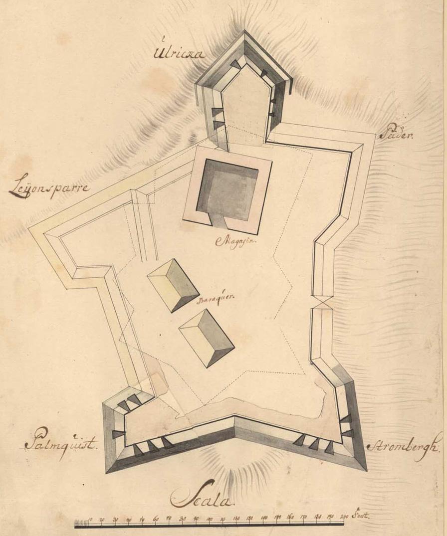 Jerpe skans 1713