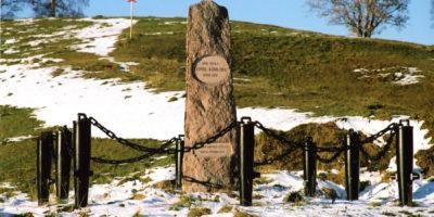 Monumentet i Vallan.